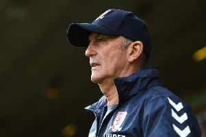 Middlesbrough manager Tony Pulis: Wary of Brentford.