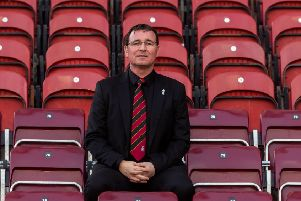 First game in charge:' Former Blackpool chief Gary Bowyer has been appointed as manager of Bradford City. Picture: James Hardisty