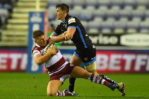 George Williams in action against Huddersfield last Friday