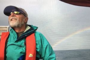 Beyond the sea: Dave Shaw hopes to sail around the world.