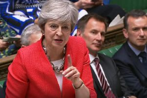 Theresa May's future is again on the line over Brexit.