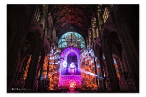 SPECTACLE: Ripon Cathedral is to host Son et Lumiere, an event with music and projections, to celebrate the 50th anniversary of man landing on the Moon. PIC: Nick Lancaster