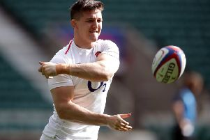 England's Tom Curry during the training session at Twickenham Stadium,(Picture: Adam Davy/PA Wire)