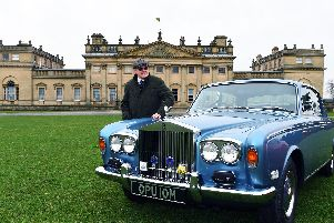 Classic car 'Poppy' set to turn heads at The Yorkshire Post Motor Show and Classic Car Rally at Harewood House