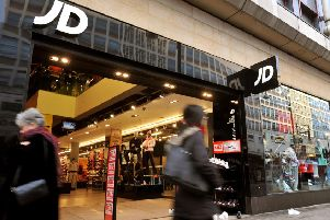 File photo dated 9/1/09 of the JD Sports shop on Oxford Street, central London.   See PA story CITY JDSports. Photo credit should read: John Stillwell/PA Wire