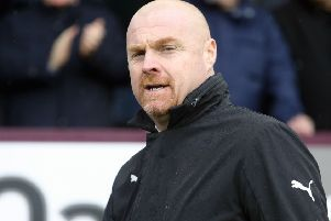 Burnley manager Sean Dyche ''Photographer Rich Linley/CameraSport''The Premier League - Burnley v Leicester City - Saturday 16th March 2019 - Turf Moor - Burnley''World Copyright � 2019 CameraSport. All rights reserved. 43 Linden Ave. Countesthorpe. Leicester. England. LE8 5PG - Tel: +44 (0) 116 277 4147 - admin@camerasport.com - www.camerasport.com