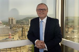 Russell Galley, Managing Director Halifax Bank.  9 June 2016.  Picture Bruce Rollinson