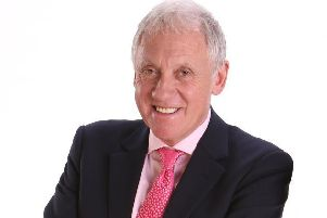 Awards host and veteran BBC Look North presenter Harry Gration.