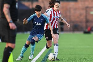 Sheffield United's Sophie Jones has had her contract terminated.