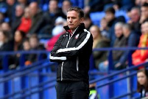 Bolton Wanderers manager Phil Parkinson.