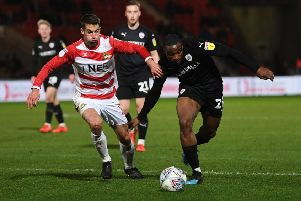 Doncaster Rovers' Matty Blair.'(Picture: Jonathan Gawthorpe)