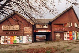 The Gaiety on Roundhay Road has now been demolished