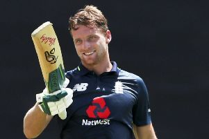 Jos Buttler: Was the victim of a 'back-handing' dismissal from Ravi Ashwin in the IPL.
