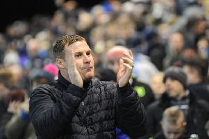 Mansfield Town manager David Flitcroft.