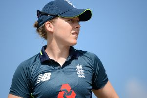 Heather Knight of England (Picture: Nathan Stirk/Getty Images)