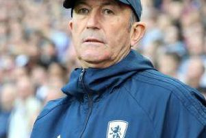 Middlesbrough head coach Tony Pulis.