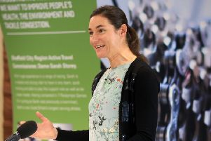 Dame Sarah Storey is Sheffield City Region's first active travel commissioner.