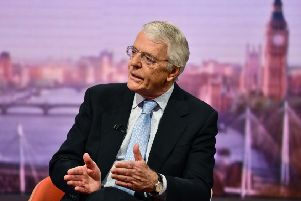 Sir John Major has cautioned against a snap election.