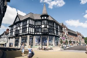 An artist's impression of the entire site when it is completed.