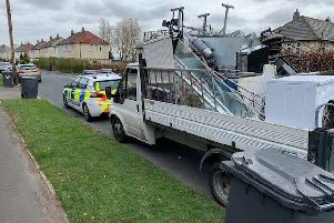 Police in Leeds have seized a drug dealer's car during a clampdown on dodgy scrap metal vans in Leeds. Photo credit: West Yorkshire Police.