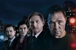 The cast of Jed Mercurio's Line of Duty. Picture: World Productions
