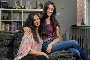 Nila Patel is a homestay host for students coming over to the UK to study. Since 2016 she has welcomed nearing 20 students into her house in Armley she shares with her daughter Angel. Picture Tony Johnson.