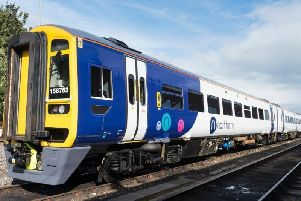 Police were called to an incident on a train yesterday (Weds) which left key commuter train lines blocked.