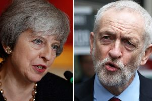 Prime Minister Theresa May and Labour leader Jeremy Corbyn. PIC: PA/PA Wire