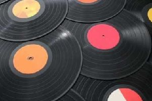 Old vinyl records can be collector's items