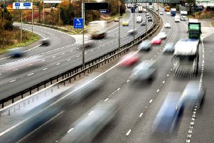 Highways England has revealed that a �317m pinch point programme often resulted in benefits for rush hour journeys after one year which were outweighed by delays at other times of day. Picture by Rui Vieira/PA Wire.