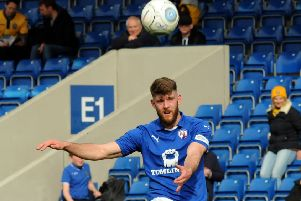 Chesterfield's Will Evans.