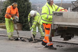Derbyshire County Council is getting more help fix potholes.