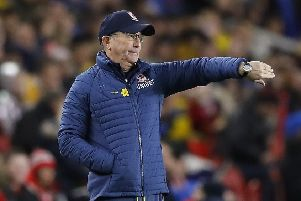 Middlesbrough manager Tony Pulis Picture: Martin Rickett/PA