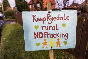 Campaigners in Ryedale remain resolute with their opposition to fracking.