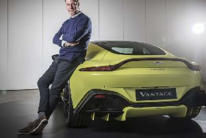 Marek Reichman, head of design at Aston Martin. (charliemagee.com).