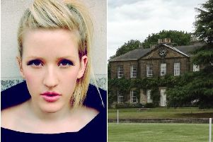 Pop star Ellie Goulding is set to marry into the family which owns Frickley Hall near Doncaster. (Photo: Neil Theasby).