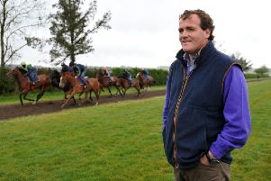 Trainer Richard Hannon hoping for success in the Greenham Stakes at Newbury today. (Picture: Andrew Matthews/PA Wire)