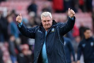Owls chief Steve Bruce: 900th game as a manager.