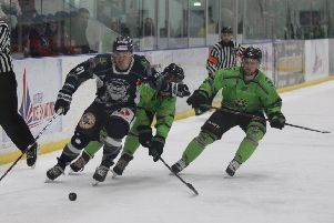 WE'LL MEET AGAIN? Sheffield Steeldogs and Hull Pirates may yet get to lock horns once again this season. Picture: Cerys Molloy