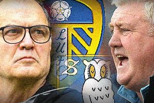 Marcelo Bielsa and Steve Bruce.