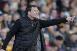 Bradford City manager Gary Bowyer: Frustrated.