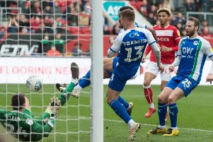 Nathan Byrne and Anthony Pilkington both 'score' at Bristol City!