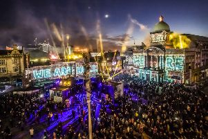 How Hull marked the start of its year as the UK's City of Culture.