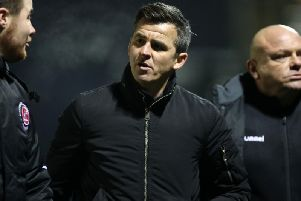 Fleetwood Town manager Joey Barton
