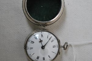 Pocket watch by Arthur Holloway, of London.