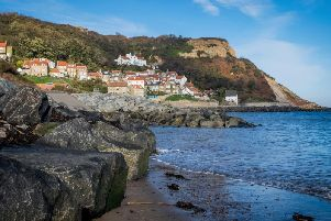 Runswick Bay near Whitby was the centre of the smuggling trade on the Yorkshire coast