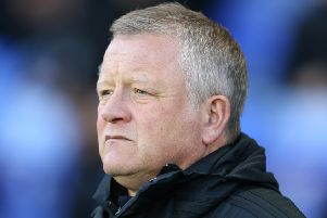 Chris Wilder: Refuses to be distracted.