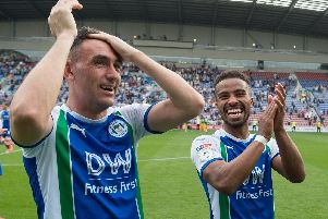 Wigan Athletic will be playing in the Championship next season