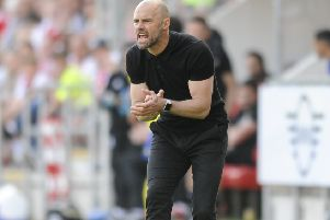 Rotherham United manager Paul warne