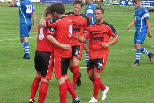 Garstang were able to celebrate a point against Longridge Town on Monday